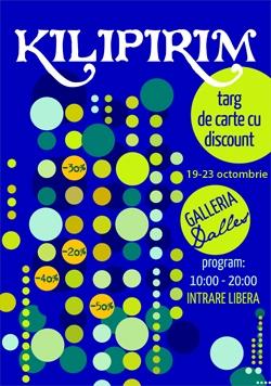 Kilipirim 2011, cel mai mare targ de carte cu discount din Bucuresti