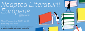 Noaptea Literaturii Europene la Bucuresti