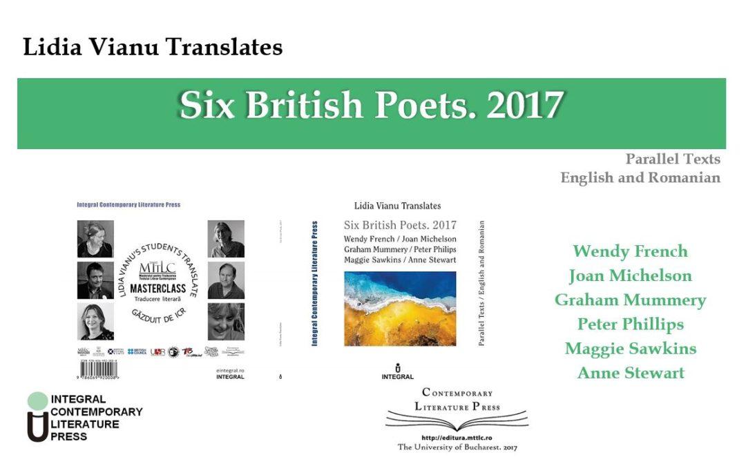 lansare volum Lidia Vianu Translates. Six British Poets. 2017