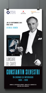 Volum Constantin Silvestri în cronici și interviuri, 1930-1959